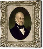 John Quincy Adams, 6th U.s. President Acrylic Print