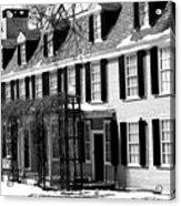 John Quincy Adams House Facade Acrylic Print