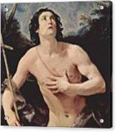 John The Baptist 1640 Acrylic Print