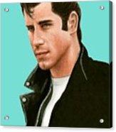 John Travolta Grease Acrylic Print