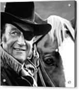 John Wayne @ True Grit #1 Acrylic Print