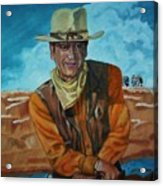 John Wayne Acrylic Print