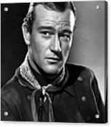 John Wayne Most Popular Acrylic Print