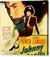 Johnny Apollo 1940 Acrylic Print