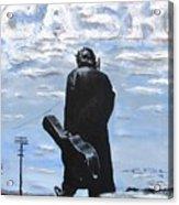 Johnny Cash - Going To Jackson Acrylic Print