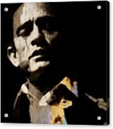 Johnny Cash - I Walk The Line  Acrylic Print