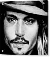 Johnny Depp  Acrylic Print