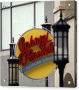 Johnny Rocket Signage Acrylic Print