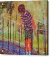 John's Reflection Acrylic Print