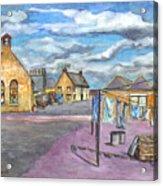 Johnshaven Scotland Acrylic Print