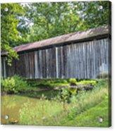 Johnson's Mill/salt Creek Covered Bridge  Acrylic Print