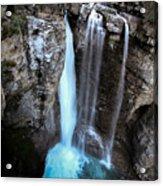 Johnston Creek Falls Acrylic Print