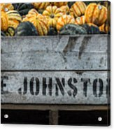 Johnston Fruit Farms Acrylic Print