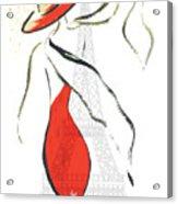 Joie De Vivre Acrylic Print