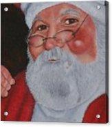 Jolly Ole Mark Acrylic Print