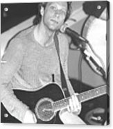 Jon Bon Jovi Acoustic Acrylic Print