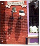 Jonesborough Tennessee - Wedding Shop Acrylic Print