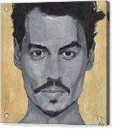 Jonny Depp  Acrylic Print
