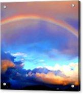 Jon's Rainbow Acrylic Print