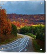 Jordan Valley Grandeur Acrylic Print
