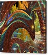 Jormungand    Midgard Serpent      Part The Second Acrylic Print