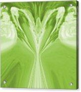 Josea - Green Acrylic Print