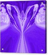 Josea - Purple Acrylic Print