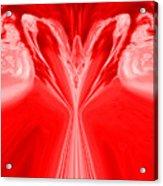 Josea - Red Acrylic Print