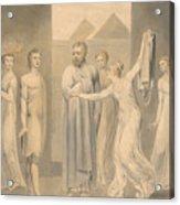 Joseph And Potiphar's Wife Acrylic Print