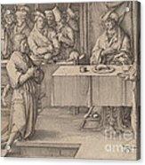 Joseph Interprets The Dreams Of The Pharaoh Acrylic Print