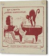 Joseph Monsalvatje Acrylic Print