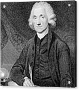 Joseph Priestley, English Chemist Acrylic Print