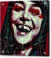 Josephine 01 Acrylic Print by Grebo Gray