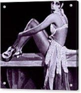 Josephine Baker 1906-1975, African Acrylic Print