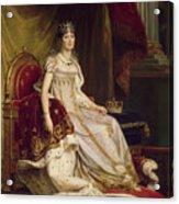 Josephine In Coronation Costume Acrylic Print