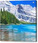 Josephine Lake Acrylic Print