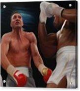 Joshua Klitschko Tko Acrylic Print