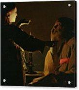 Jospeh And The Angel Acrylic Print