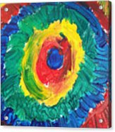 Joss's Eye Acrylic Print