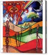 Journey Acrylic Print by Anthony Burks Sr