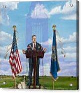 Journey Of A Governor Dave Heineman Acrylic Print