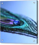 Journey Of Blue Acrylic Print