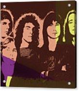 Journey Rock Band Pop Art Acrylic Print