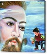 Journey With Jesus Acrylic Print