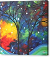 Joy By Madart Acrylic Print
