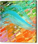 Joy In Abstract Acrylic Print