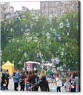 Joy Of Bubbles Acrylic Print