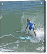 Joy Of Surfing - Four Acrylic Print