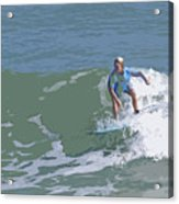 Joy Of Surfing - Three Acrylic Print