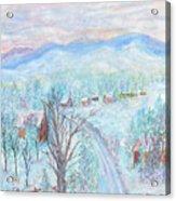 Joy of Winter Acrylic Print